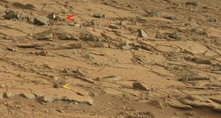 Photos de Curiosity : Une découverte sur Mars ? dans L'actu curios23ba