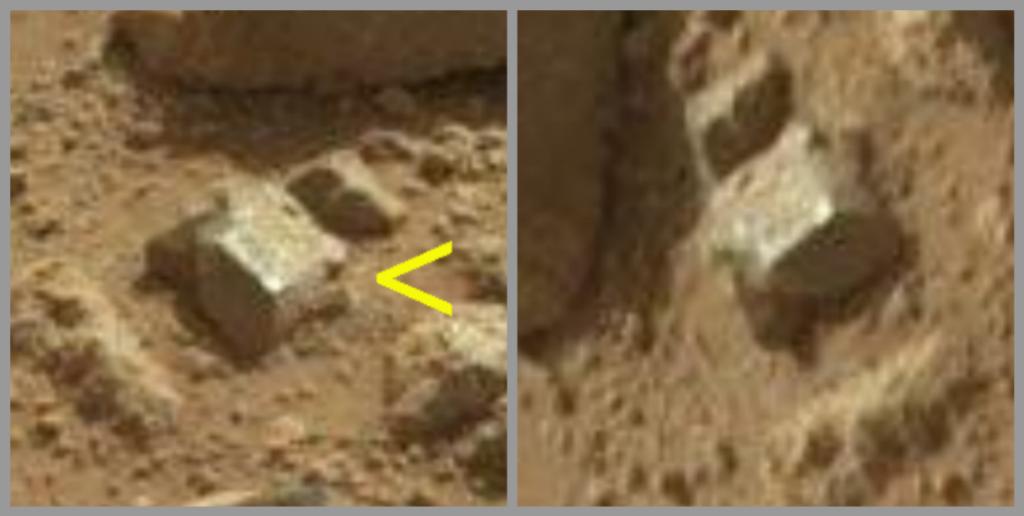 Curiosity Decouverte Dune Boite En Metal Sur Mars Insolite