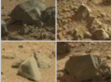 Curiosity : Etonnantes roches sur Mars